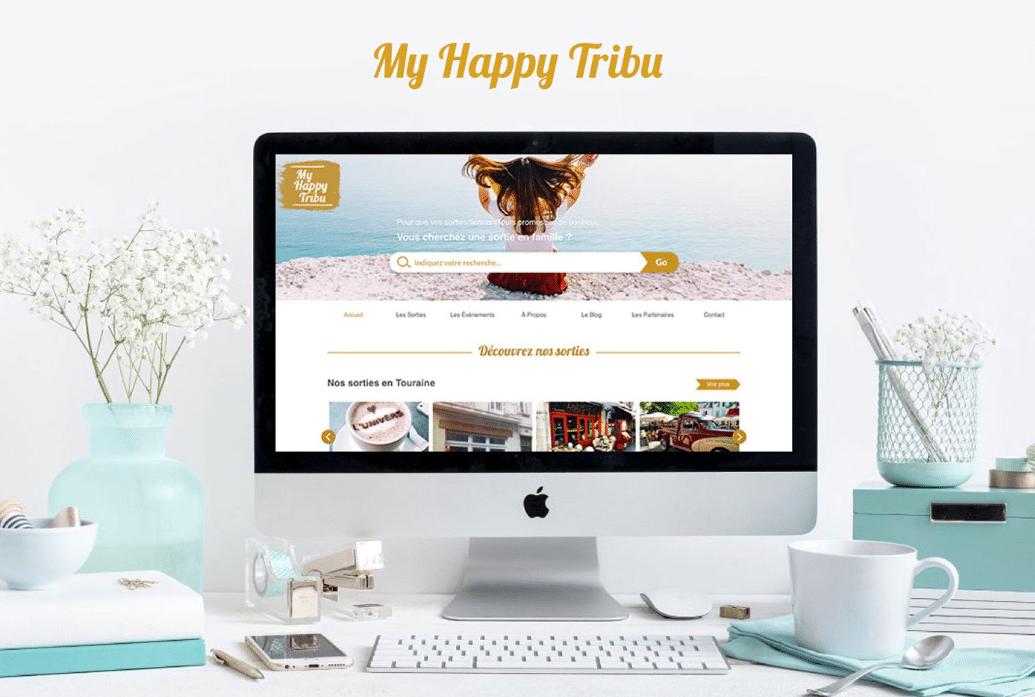 Projet webdesigner MyHappyTribu