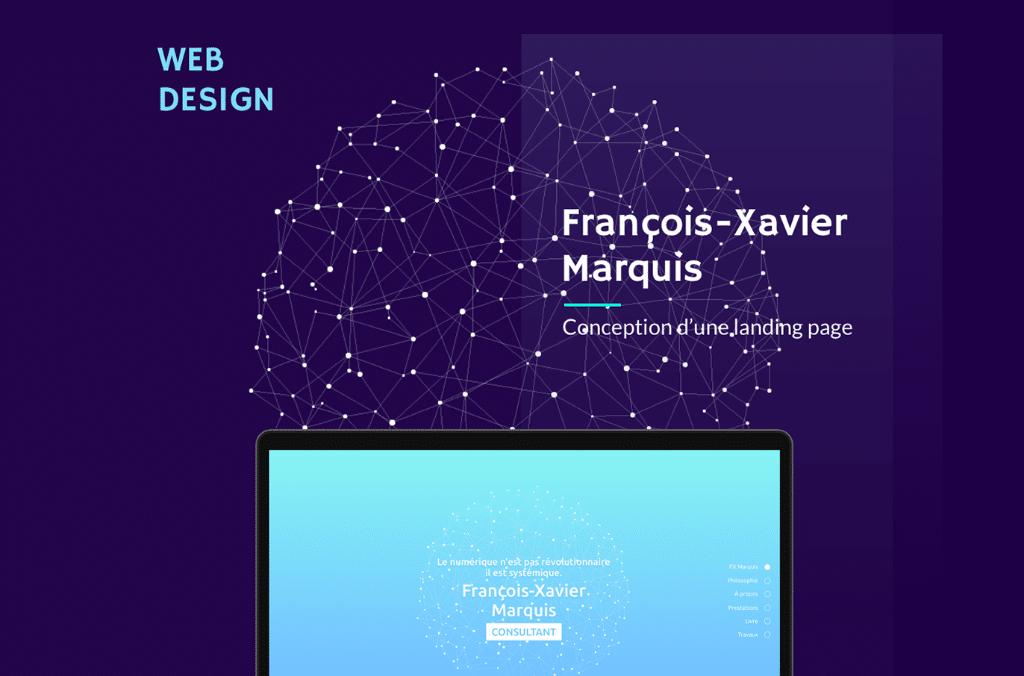 Projet webdesigner FX Marquis