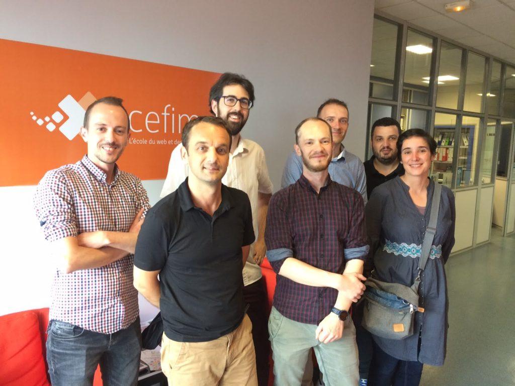 Photo de groupe jury