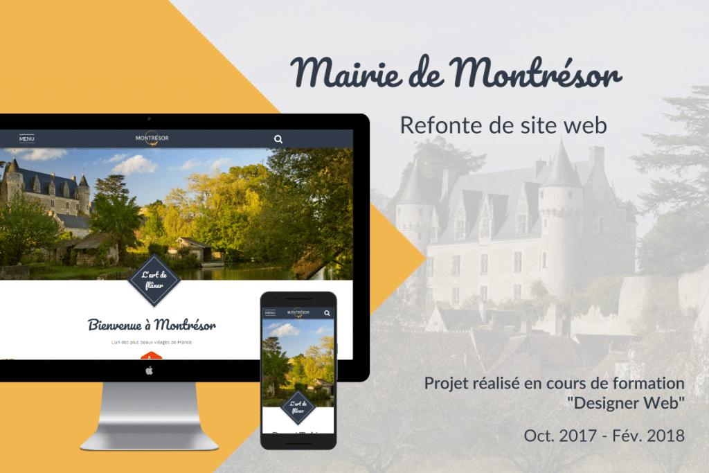 webdesigner mairie montresor