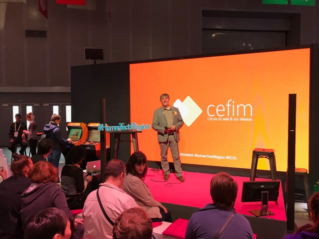 CEFIM se présente à Vivatech