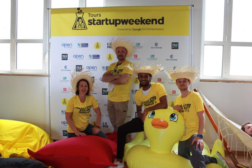 Grégory CORIN - StartUp Week end