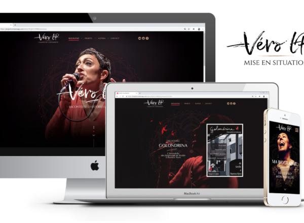 Cover projet designer Véro LP