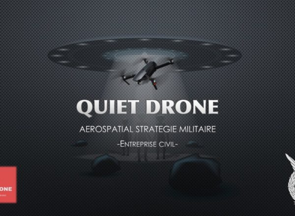 Escape game TAI - fond d'écran Quiet Drone