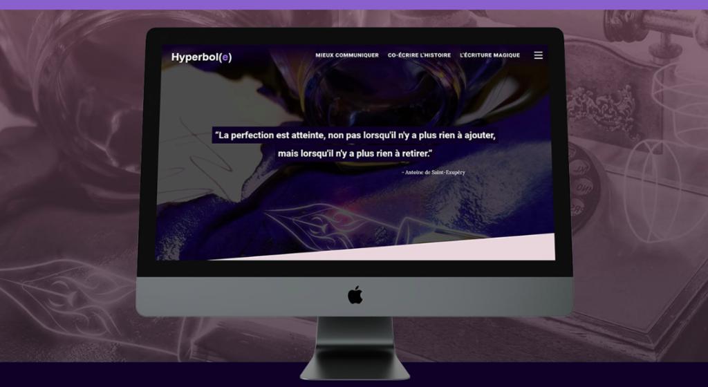 Projet client Site Agence Hyperbole