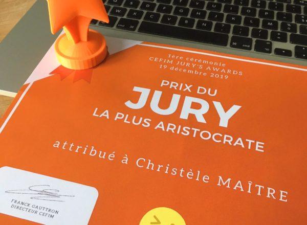 Prix du jury et trophée
