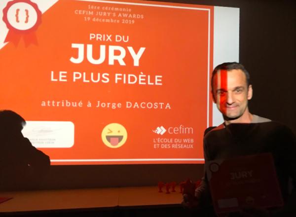 Jury le plus fidèle - Jorge Dacosta