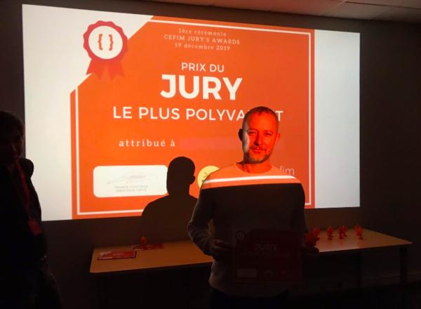 Mickaël AUGER - prix du jury CEFIM