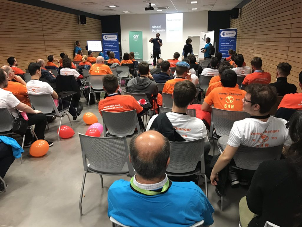 STARTUP WEEKEND DE CHaTEAUROUX