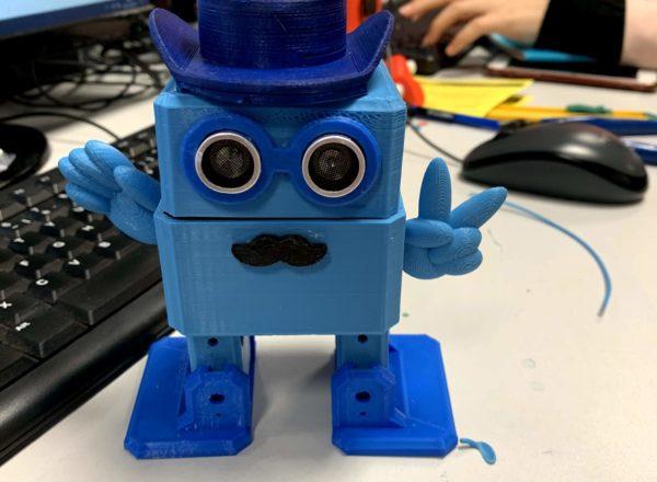 OTTO - un robot imprimé