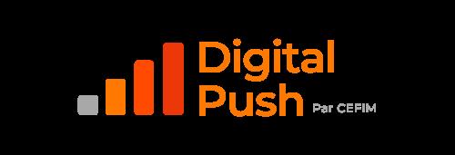 Logo digital push crop