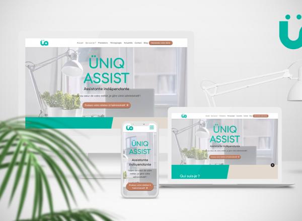 Site web Uniq Assist